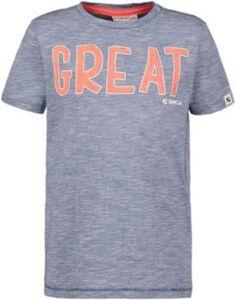 T-Shirt  blau Gr. 104/110 Jungen Kleinkinder