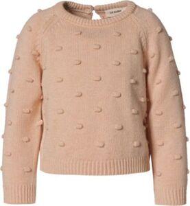 Pullover NMFGABLE , Organic Cotton beige Gr. 104 Mädchen Kleinkinder