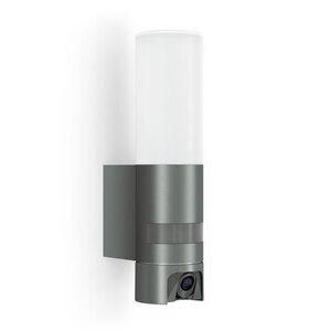 """Steinel              Kamera-LED-Außenleuchte """"L 600 Cam"""", anthrazit"""