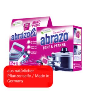 abrazo Topf & Pfanne oder abrazolino Mini-Pads