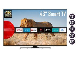 JVC 4K Fernseher / Smart TV (Prime Video / Netflix, UHD mit Dolby Vision HDR / HDR 10, Bluetooth, Triple-Tuner, HD+)