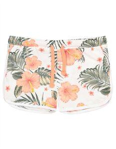 Mädchen Shorts - Florales Muster