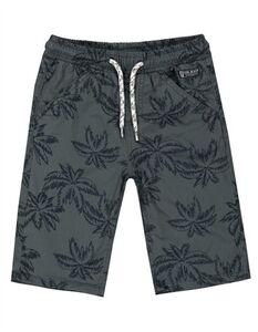 Jungen Shorts - Florales Muster