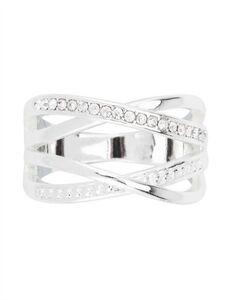 Damen Ring - Ziersteine