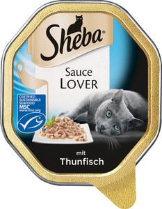 Sheba Sauce Lover mit Thunfisch Katzenfutter nass 85 g