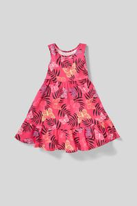C&A Kleid-Bio-Baumwolle, Rosa, Größe: 122