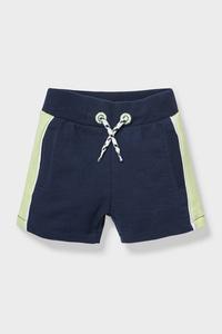 C&A Baby-Sweatshorts-Bio-Baumwolle, Blau, Größe: 62