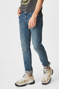 C&A CLOCKHOUSE-Slim Jeans, Grau, Größe: W28 L32