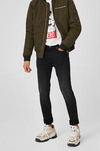 C&A CLOCKHOUSE-Skinny Jeans, Schwarz, Größe: W28 L32
