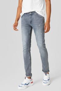 C&A CLOCKHOUSE-Skinny Jeans, Grau, Größe: W28 L32