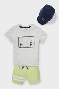 C&A Miffy-Baby-Outfit-3 teilig, Grau, Größe: 62