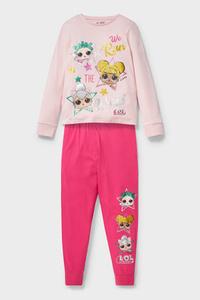 C&A L.O.L. Surprise-Pyjama-Bio-Baumwolle-2 teilig, Pink, Größe: 122