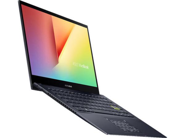 ASUS VivoBook Flip 14 TM420IA-EC071T, Convertible mit Zoll Display, Ryzen™ 5 Prozessor, 8 GB RAM, 512 SSD, AMD Radeon™ Grafik, Bespoke Black