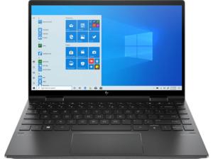 HP ENVY x360 13-ay0360ng, Convertible mit 13,3 Zoll Display, Ryzen 5 Prozessor, 8 GB RAM, 512 SSD, Radeon Graphics, Schwarz