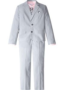 Jungen Anzug (4-tlg.Set): Sakko, Hose, Hemd, Krawatte