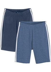 Mädchen Radler-Shorts (2er-Pack) mit Bio Baumwolle