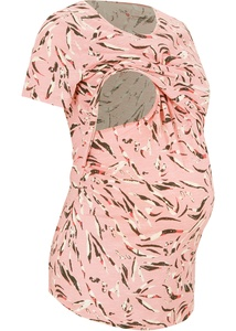 Umstandsshirt/Stillshirt aus Bio-Baumwolle