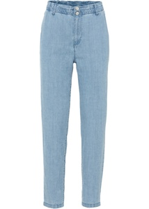 Paper-Bag Jeans mit TENCEL™ Lyocell