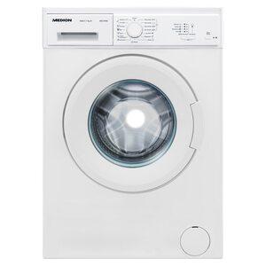 MEDION Waschmaschine MD 37516, Nennkapazität 7 kg, 15 Waschprogramme, 1000 U/min, Startzeitverzögerung