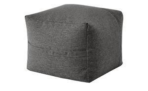 Hocker  Fiete - grau - 50 cm - 44 cm - Sconto
