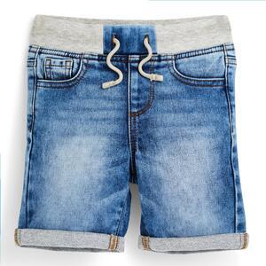 Blaue Schlupf-Jeansshorts (kleine Jungen)