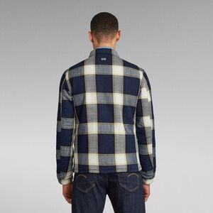 XPO Indigo Check Overshirt