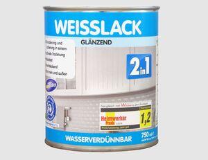 Weisslack 2in1 glänzend