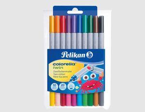 Pelikan Fasermaler Twin 10 Farben