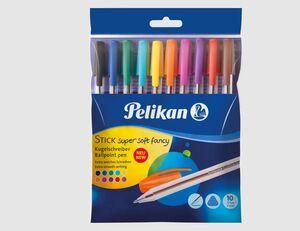 Pelikan Kugelschreiber 10 Farben