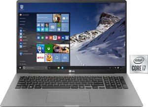 LG gram 17, Ultraleichtes Notebook (43,18 cm/17 Zoll, Intel Core i7, Iris Plus Graphics, 1000 GB SSD, 16 GB DDR4-RAM)