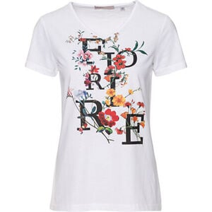 """Adagio T-Shirt """"Lille"""", Kurzarm, Rundhals, Front-Print, für Damen"""