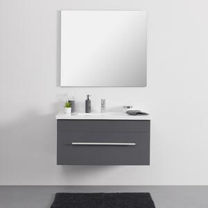 Waschtischkombi 'Alessandro' inkl. Waschbecken, grau