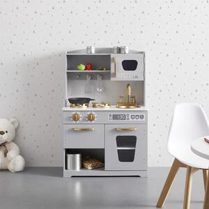 Kinderküche Bea in Grau