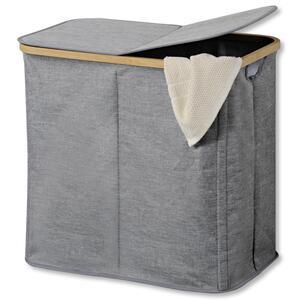 Wäschekorb Wäschesammler in Grau
