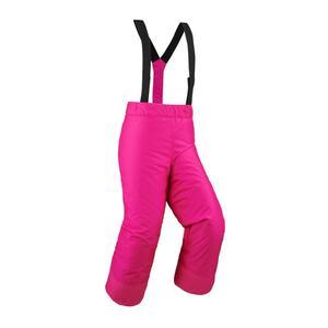 Skihose 100 Kinder rosa