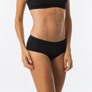 Bikini-Hose Shorty Vanina mit Kordelzug Damen schwarz