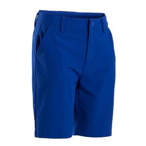 Golf Bermuda Shorts MW500 Kinder blau