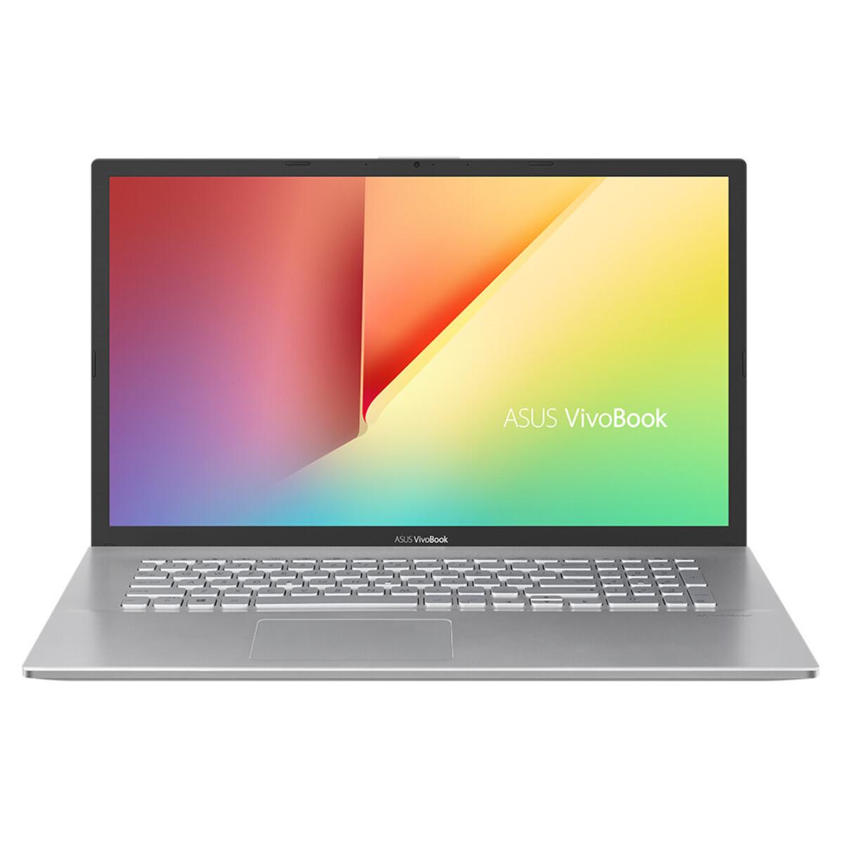 Bild 1 von ASUS VivoBook 17 F712JA-BX273T silber Notebook (17,3 HD+ matt, Core i3-1005G1, 8 GB RAM, 512 GB SSD, Intel UHD, Windows 10 Home)