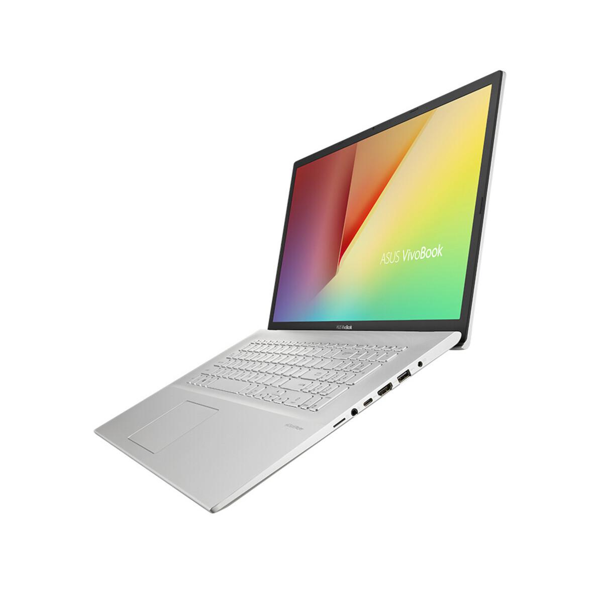 Bild 3 von ASUS VivoBook 17 F712JA-BX273T silber Notebook (17,3 HD+ matt, Core i3-1005G1, 8 GB RAM, 512 GB SSD, Intel UHD, Windows 10 Home)