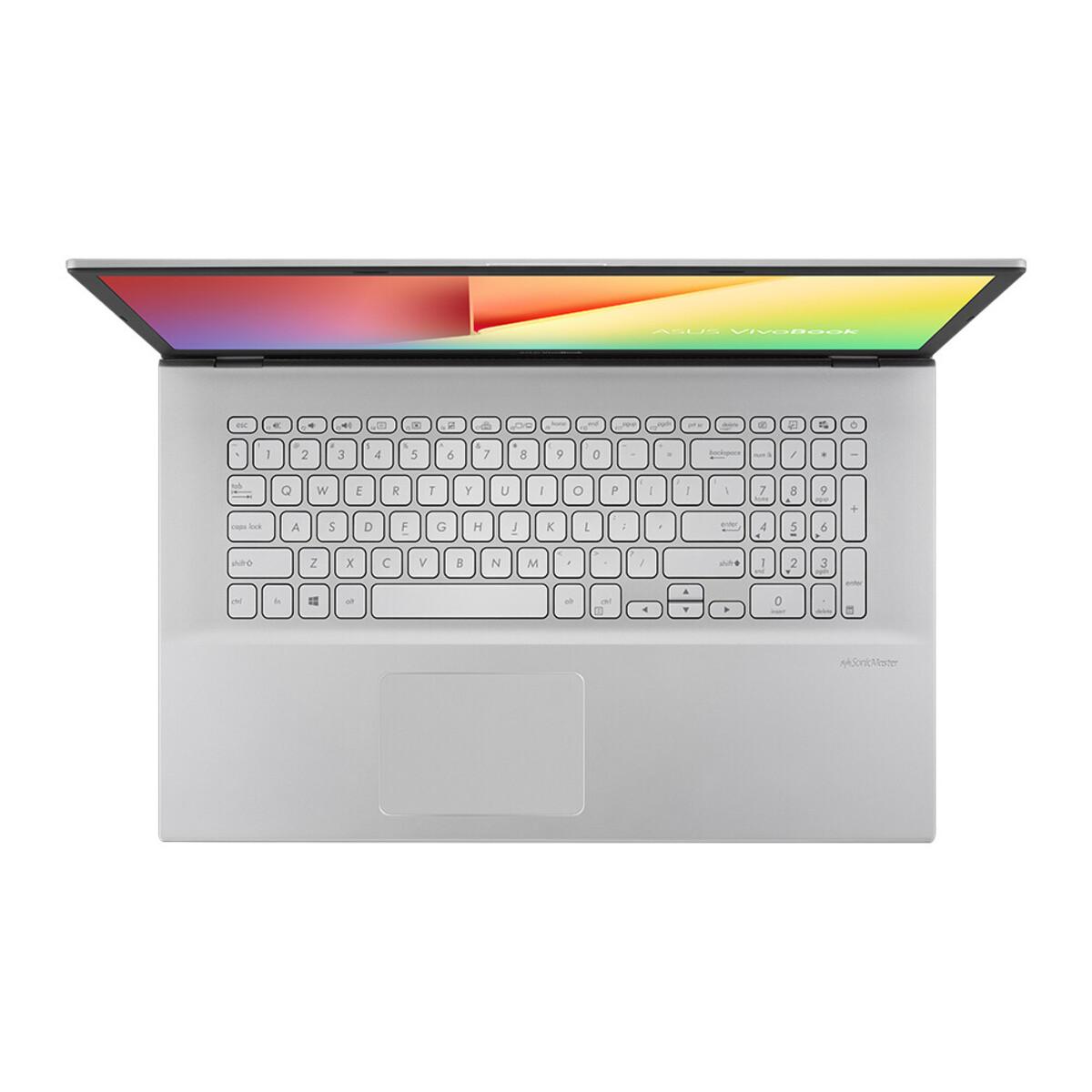 Bild 4 von ASUS VivoBook 17 F712JA-BX273T silber Notebook (17,3 HD+ matt, Core i3-1005G1, 8 GB RAM, 512 GB SSD, Intel UHD, Windows 10 Home)