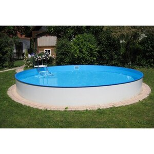 Summer Fun Stahlwand-Pool Einbau- und Aufstellbecken rund Ø 350 cm x 120 cm