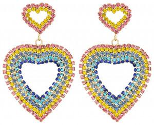 Ohrstecker - Rainbow Love