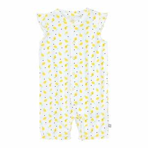 Baby-Mädchen-Pyjama mit Zitronen-Muster
