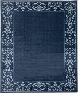 Teppich »Romane«, DELAVITA, rechteckig, Höhe 7 mm, Bordüren Teppich, Wohnzimmer
