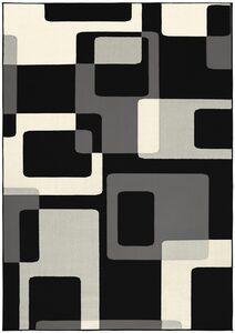 Teppich »Retro«, HANSE Home, rechteckig, Höhe 9 mm, retro Design, Wohnzimmer
