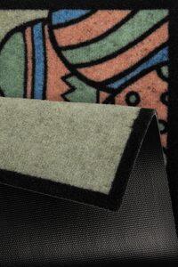Fußmatte »Happy Easter«, HANSE Home, rechteckig, Höhe 7 mm, Schmutzfangmatte, mit Spruch