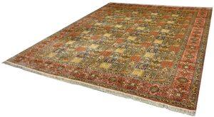 Seidenteppich »Gum 6321«, Kayoom, rechteckig, Höhe 10 mm, Einzelstück mit Zertifikat, Wohnzimmer