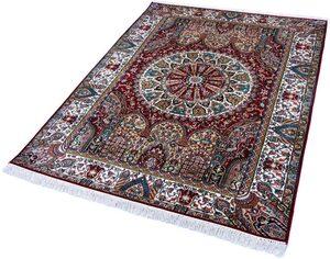 Seidenteppich »Gumakh 12028«, Kayoom, rechteckig, Höhe 10 mm, Einzelstück mit Zertifikat, Wohnzimmer