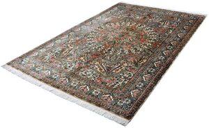 Seidenteppich »Gumbakh 12003«, Kayoom, rechteckig, Höhe 10 mm, Einzelstück mit Zertifikat, Wohnzimmer