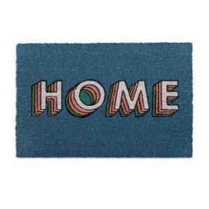 Fußmatte »Kokos Fußmatte HOME«, relaxdays, Höhe 15 mm